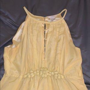 Esley yellow summer dress